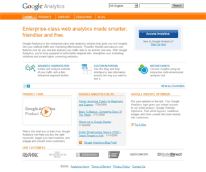 Google Analytics Screen Capture