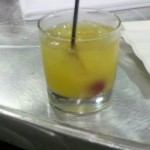 "The conference had a signature drink, following the orange theme with the ""Juntini."""