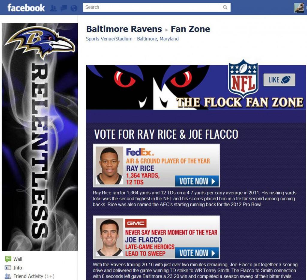The Raven's Fan Zone