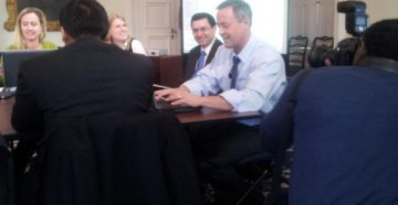 @GovernorOMalley sits down for Maryland's first #MDGovTweetup.