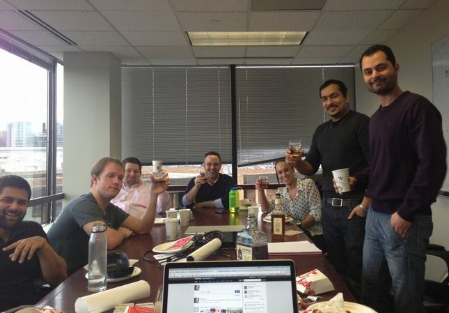 Ringio Social Media Meeting