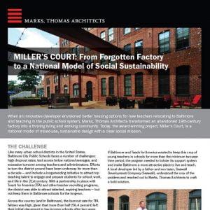 Marks Thomas Associates Case Study Sample