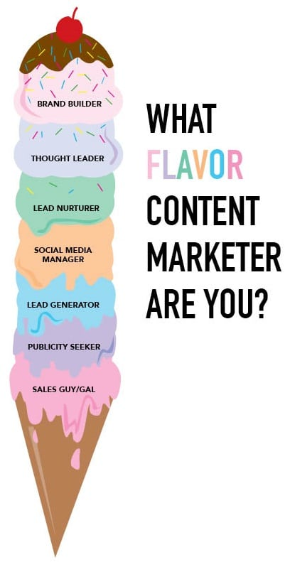 What Flavor Content Marketer Are You?