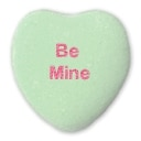 Be Mine Candy Heart