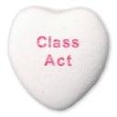Class Act Candy Heart