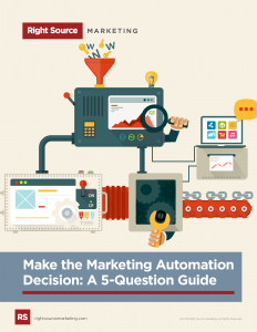 Make the Marketing Automation Decision: A 5-Question Guide