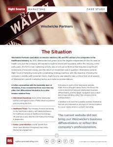 Westwicke Case Study