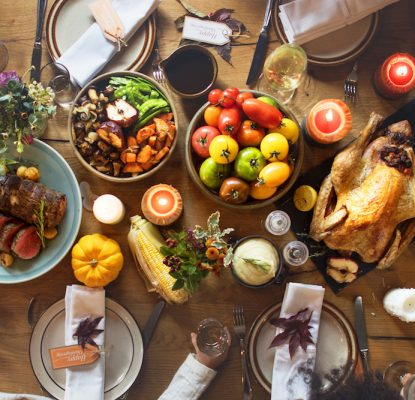 Serving Content Marketing for Thanksgiving: What's On the Table