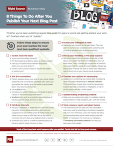 8 Things To Do After You Publish Your Next Blog Post