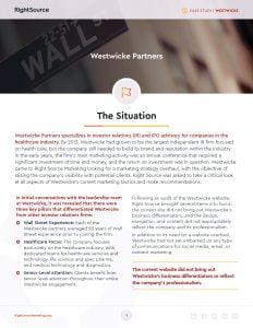 Case Study: Westwicke Partners