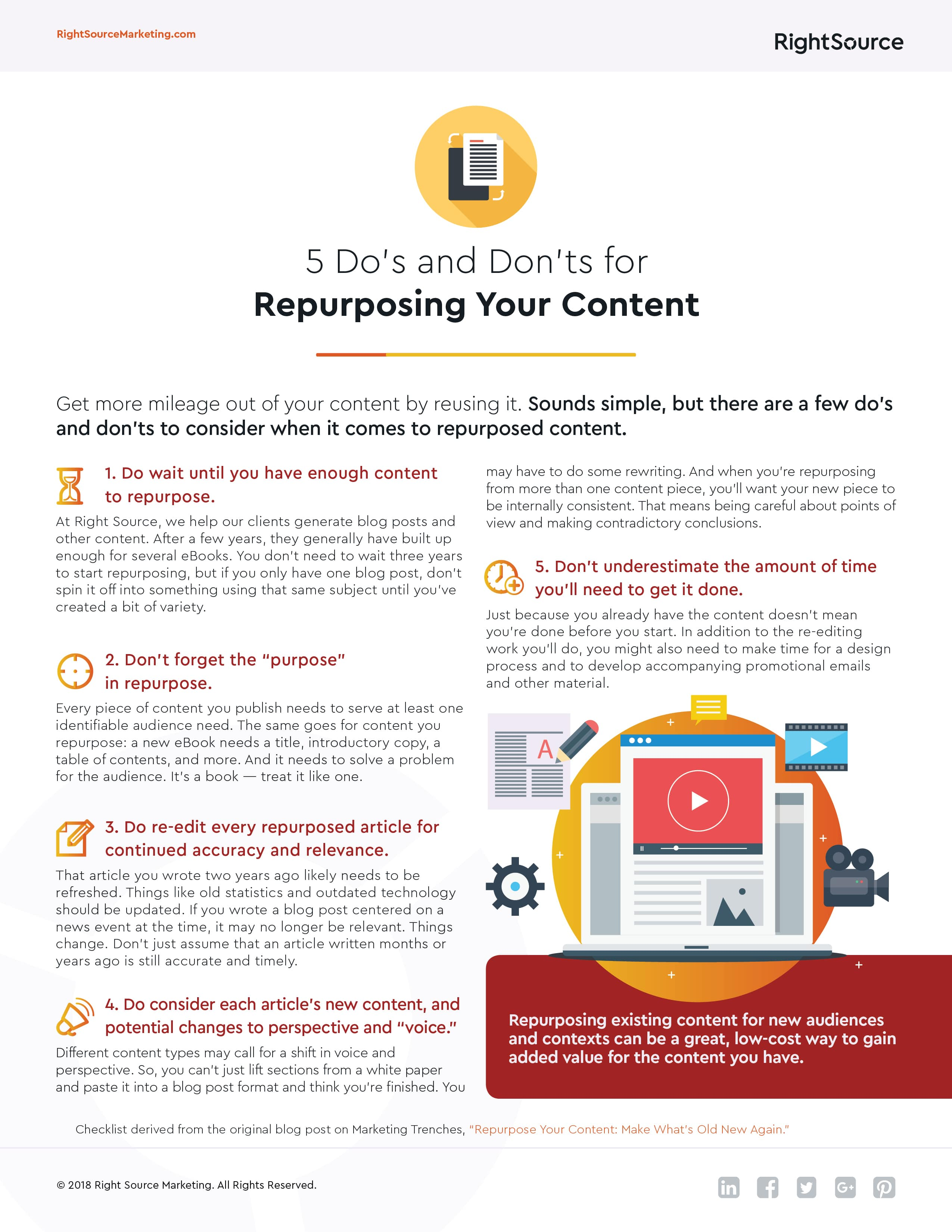 493c7779aeb31a But what s the best way to transform your existing content  Here are five do s  and don ts to follow. (Click the image below to download.)