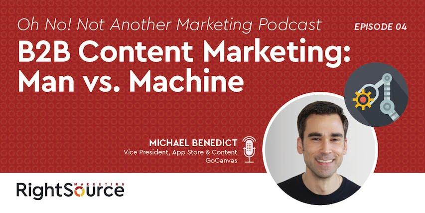 ONNAMP Episode Four: B2B Content Marketing – Man vs. Machine