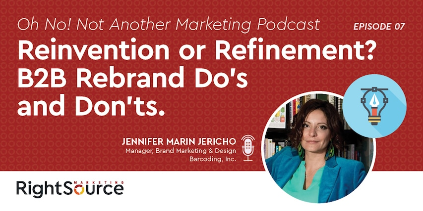 ONNAMP Ep. 7: Reinvention or Refinement? B2B Rebrand Do's and Don'ts