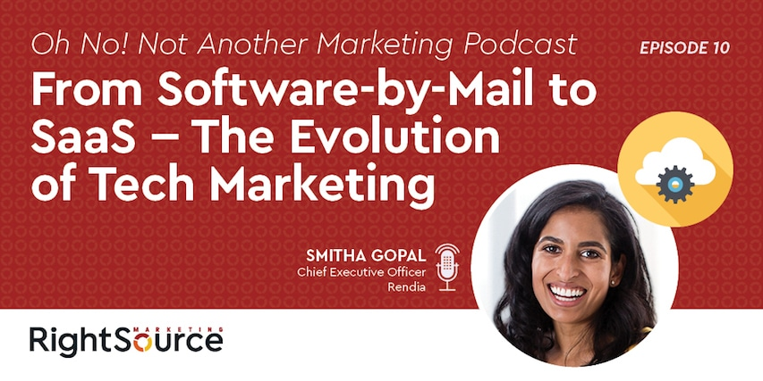 ONNAMP Ep. 10: From Software-by-Mail to SaaS – The Evolution of Tech Marketing